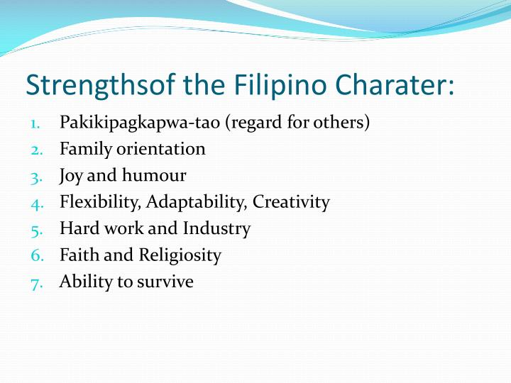 filipino values that affect leadership Race does not necessarily affect leadership the environment that achild grows up in will have an impact on what kind of leader theyturn out to be.