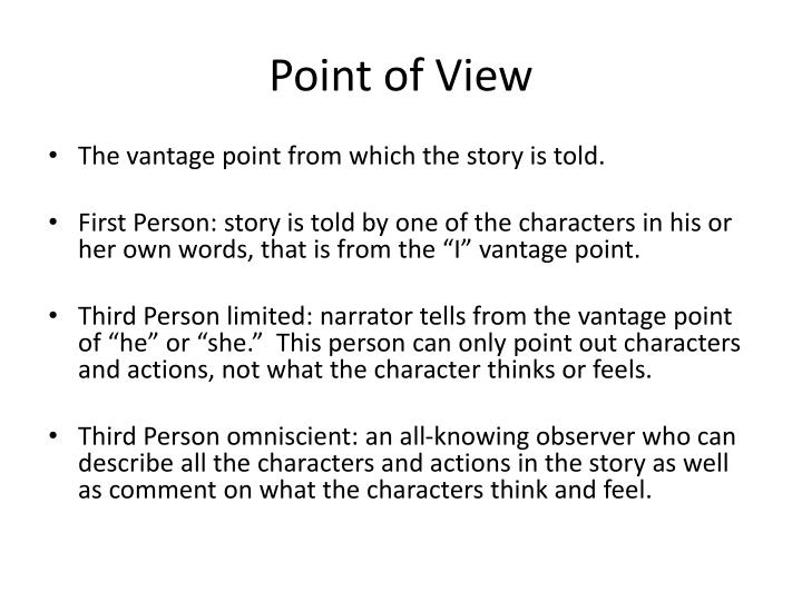 how to describe a person in a story