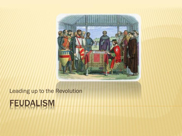 leading up to the revolution n.