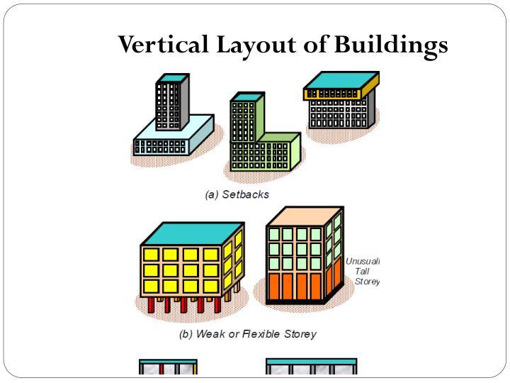 Vertical Layout of Buildings