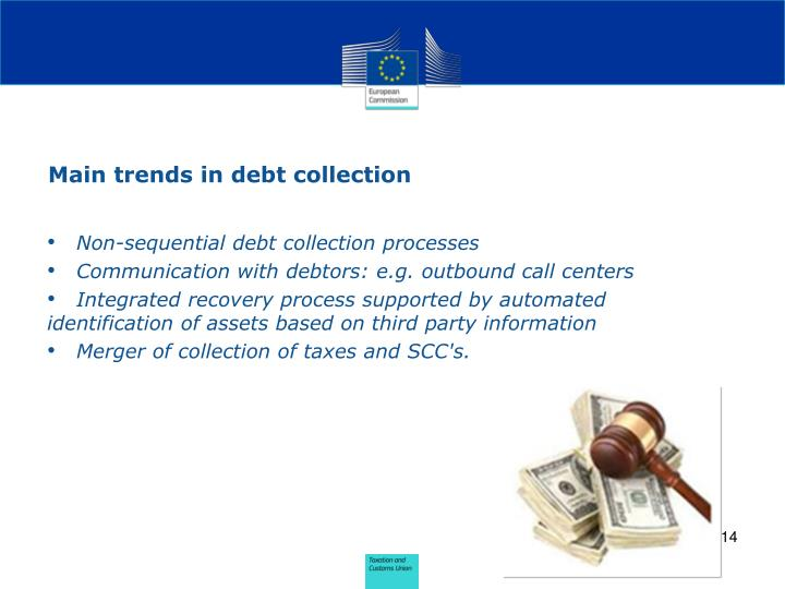 Main trends in debt collection