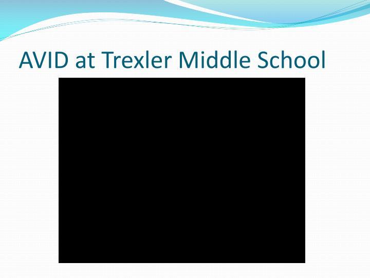 AVID at Trexler Middle School