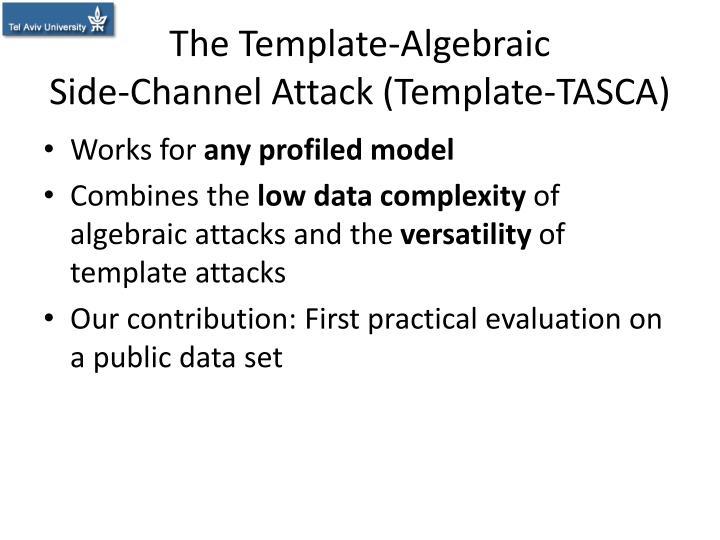 The Template-Algebraic