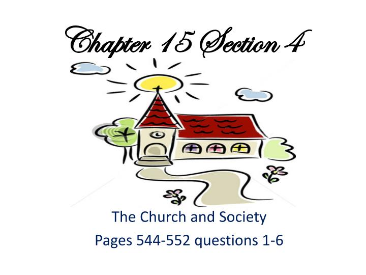 chapter 15 section 4 n.
