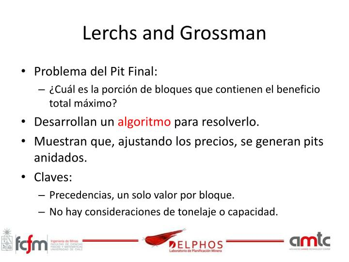 Lerchs and grossman