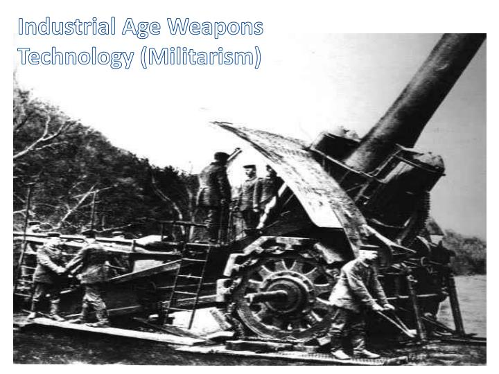 Industrial Age Weapons Technology (Militarism)