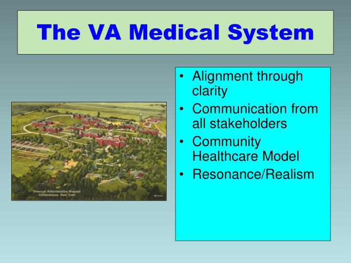 The VA Medical System