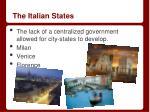 the italian states
