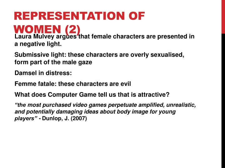 Representation of