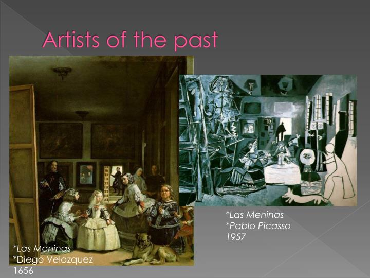 Artists of the past