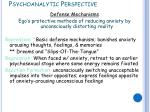 psychoanalytic perspective5