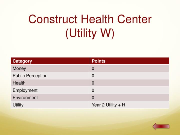 Construct Health Center