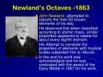 newland s octaves 1863