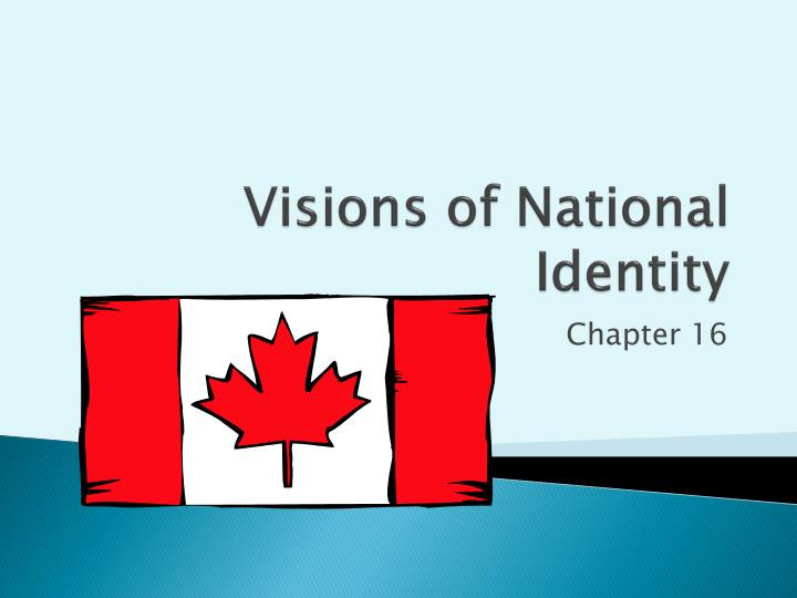 visions of national identity n.