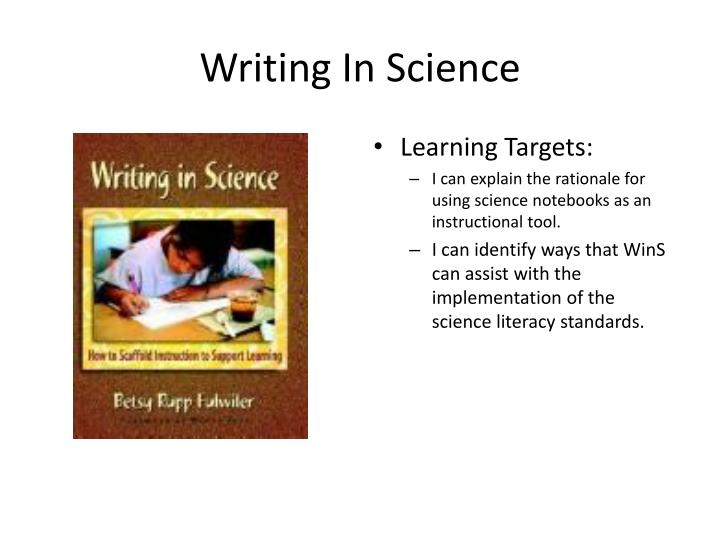Learning Targets: