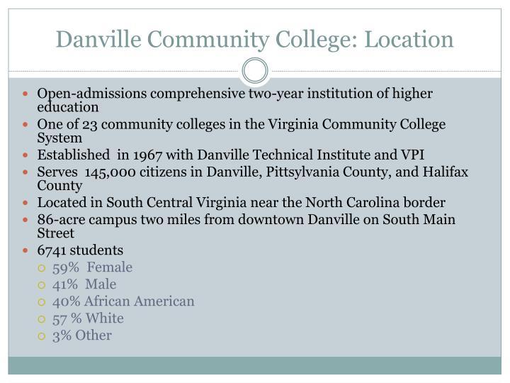 Danville community college location