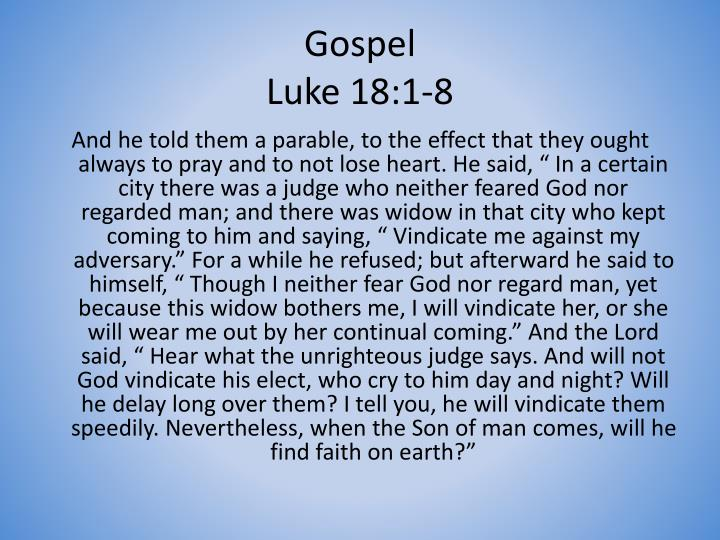 gospel of luke essay questions We will write a custom essay sample on luke's gospel specifically for you for only $1638 $139/page luke 19 v 28 marks jesus' entry into the city of jerusalem and a re-joining of luke's narrative with that contained in mark's shorter gospel.