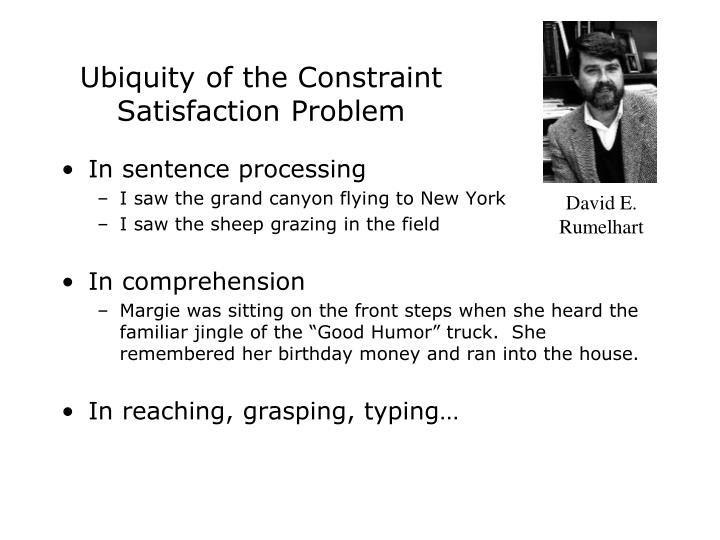 Ubiquity of the Constraint