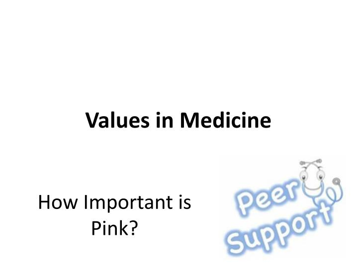 How important is pink