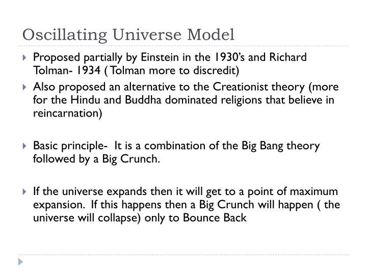 Oscillating Universe Model