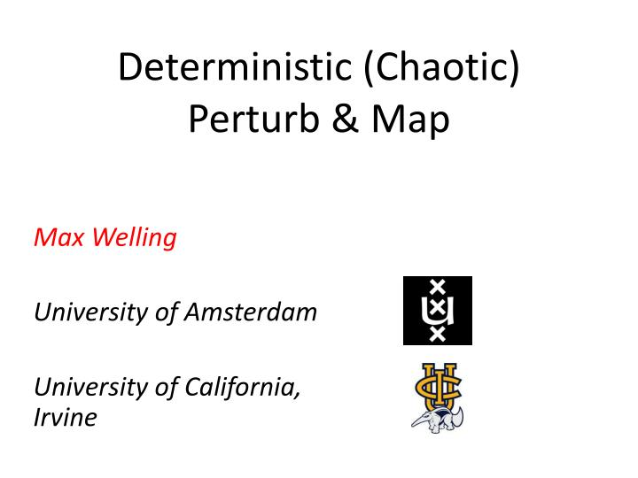 deterministic chaotic perturb map n.