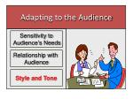 adapting to the audience2