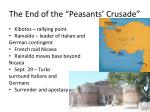 the end of the peasants crusade1