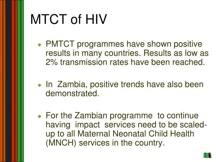 MTCT of HIV