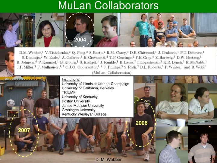 MuLan Collaborators