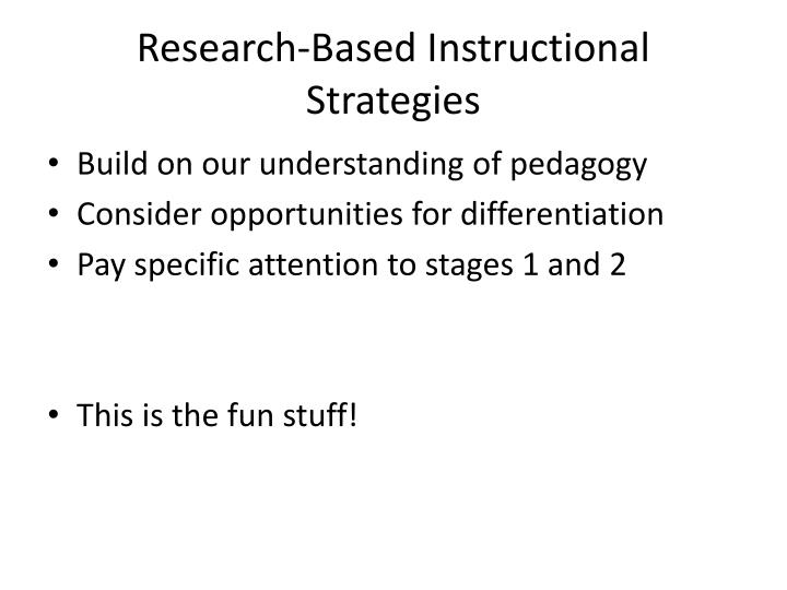 Ppt Understanding By Design Stage 3 Learning Plan Powerpoint