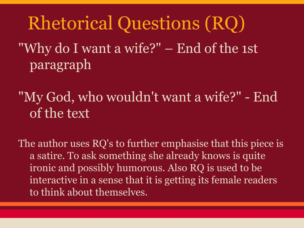 Essay i want a wife