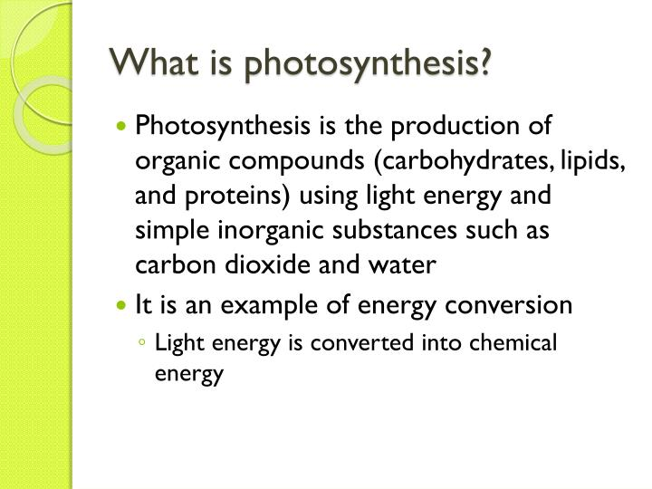 inorganic substance in photosythesis The second series of biochemical steps in photosynthesis, known as the dark reaction, involves the use of the reductant and the energy produced in the light reaction to reduce inorganic carbon to organic carbon through a process known as the calvin cycle.