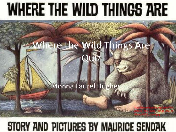 where the wild things are quiz n.
