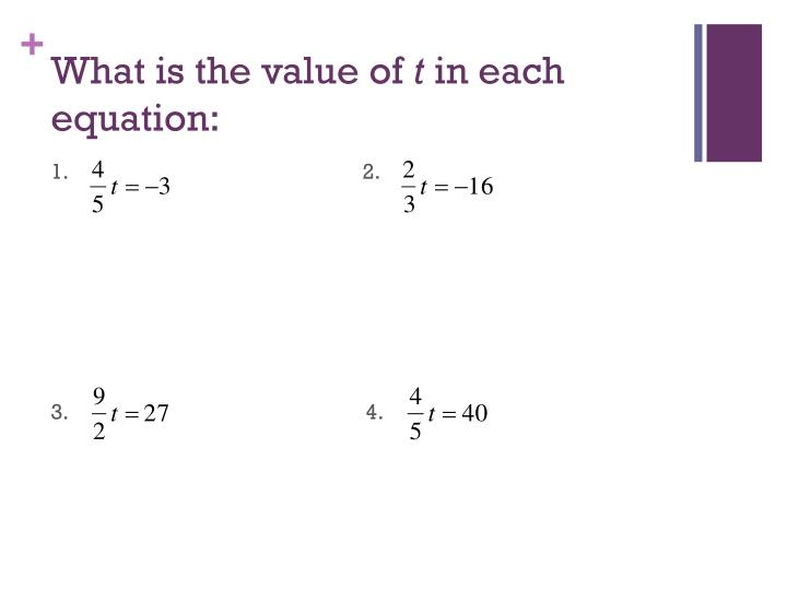 What is the value of