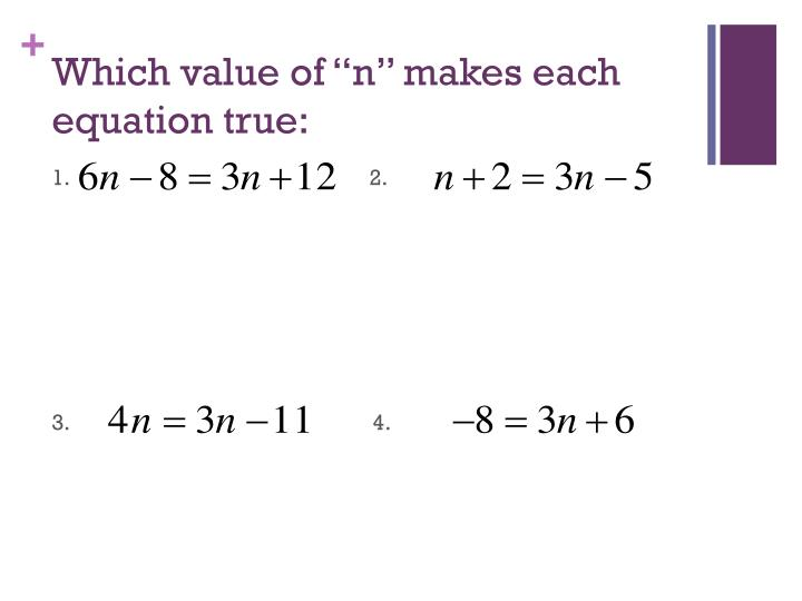 """Which value of """""""