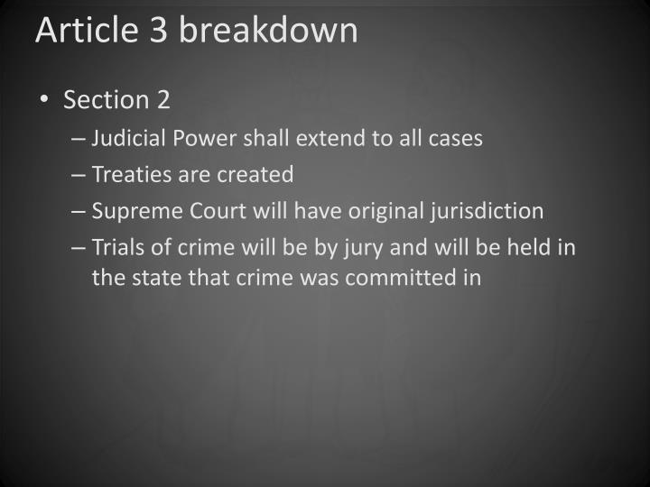 Article 3 breakdown1
