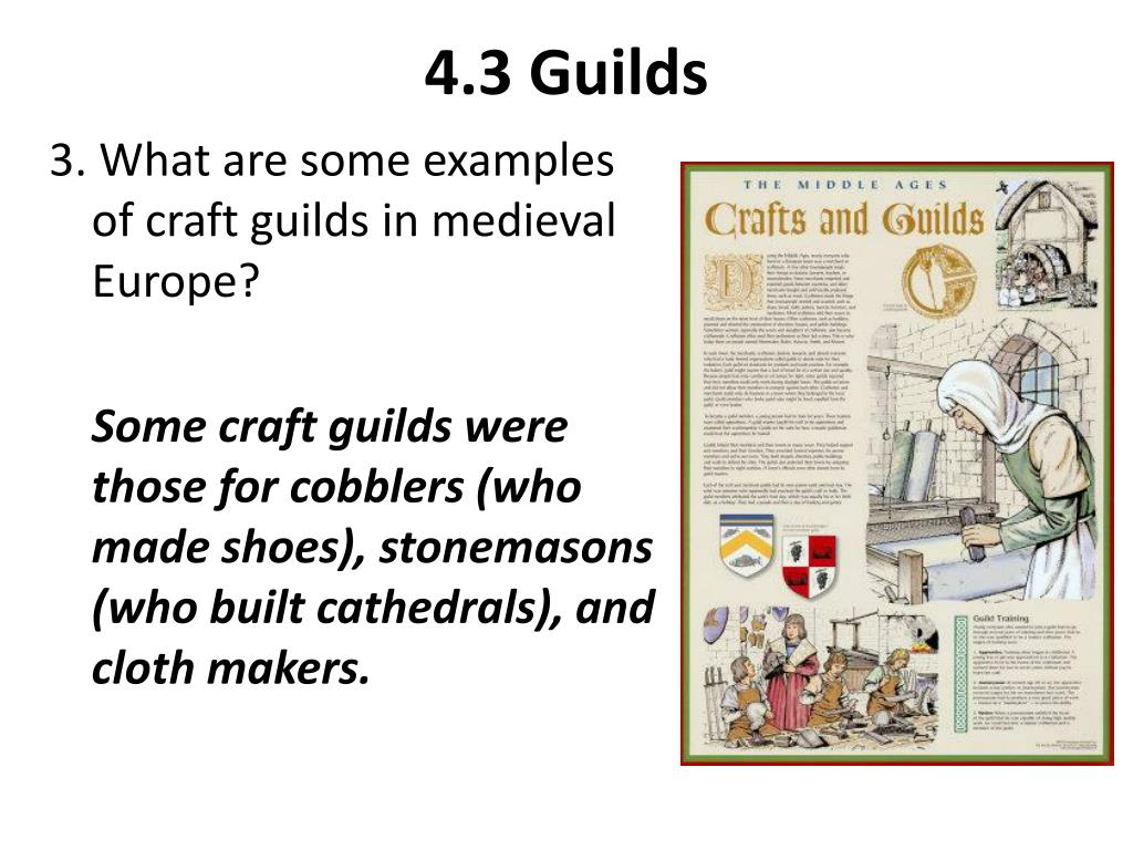 PPT - LIFE IN MEDIEVAL TOWNS PowerPoint Presentation - ID:2621024