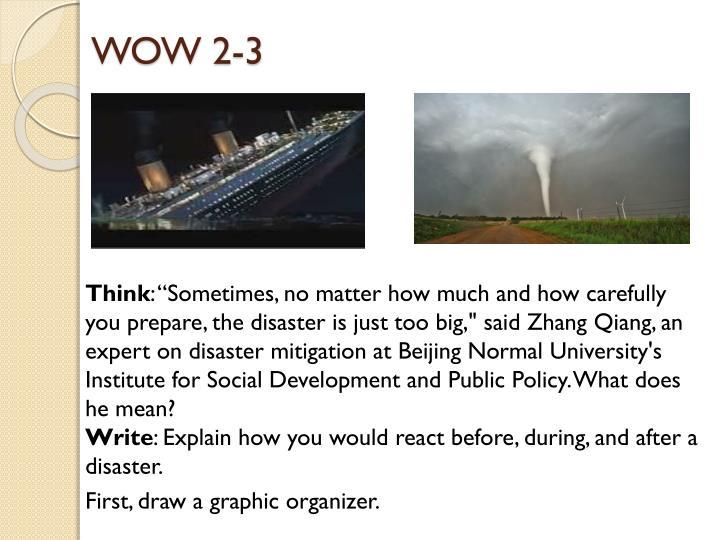 Wow 2 3