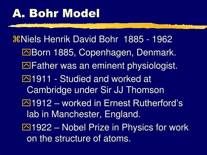A bohr model
