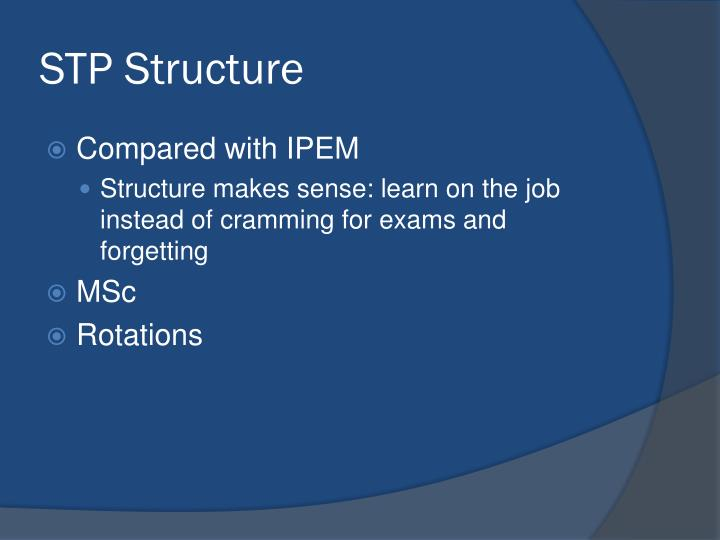 STP Structure