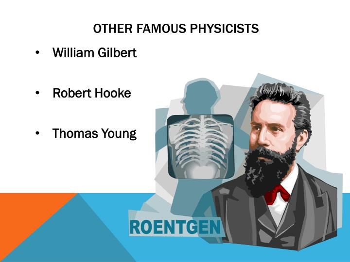 Other famous physicists