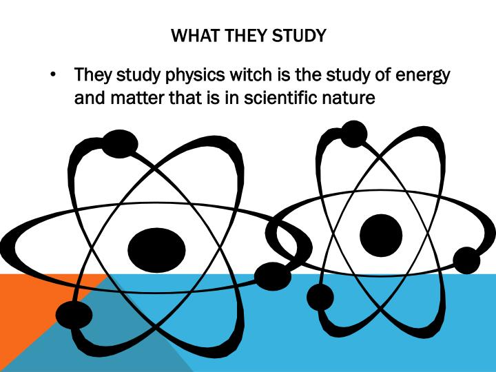What they study