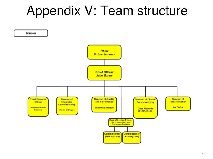 ppt - appendix v: team structure powerpoint presentation - id:2621874, Powerpoint templates