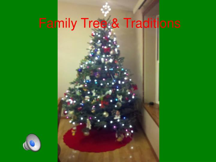 family tree traditions n.
