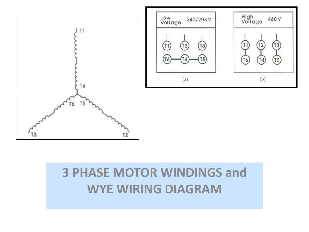 Wye 3 Phase 240v Motor Wiring Diagrams | Wiring Liry  Phase Wye Wiring Diagram on
