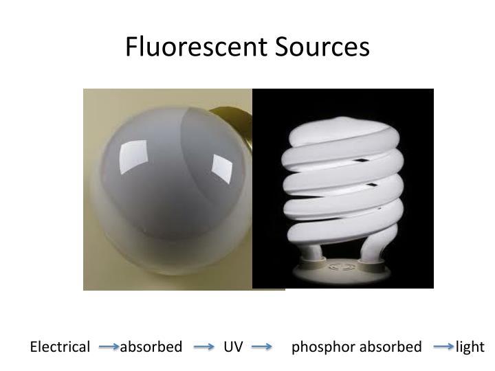 Fluorescent Sources