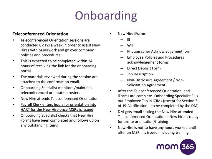onboarding - Onboarding Specialist Job Description