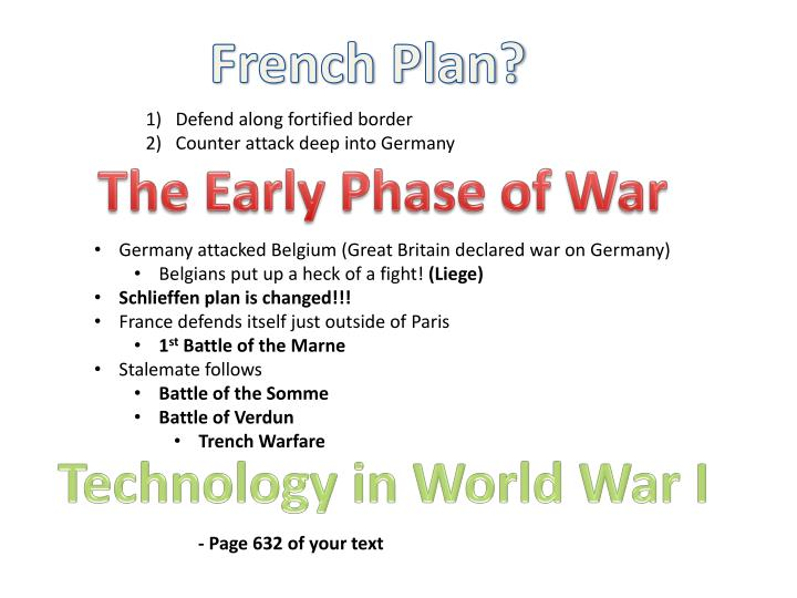 French Plan?