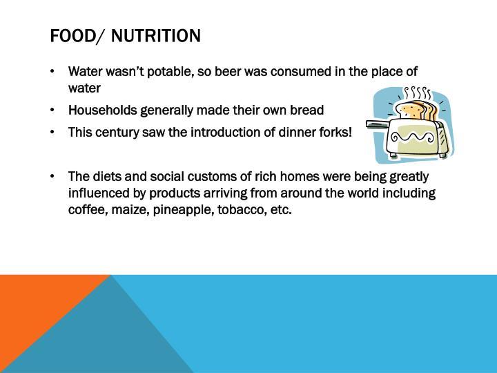 Food/ Nutrition