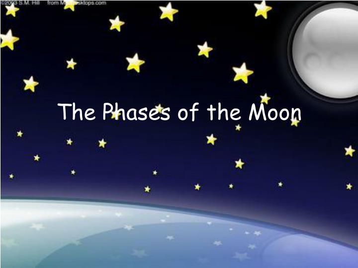 the phases of the moon n.